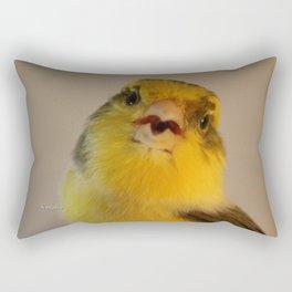 Singing Canary Rectangular Pillow
