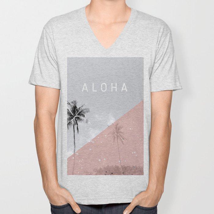 Island vibes - Aloha Unisex V-Neck