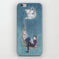 johnlock iPhone & iPod Skins featuring Johnlock Teatime by enerjax