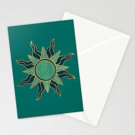 Sun King's Delight - Aquamarine Stationery Cards