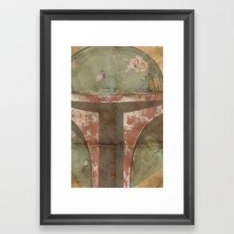 The Fett Framed Art Print