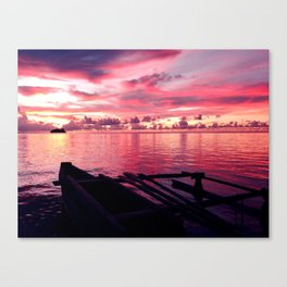 A Floating Hope Canvas Print