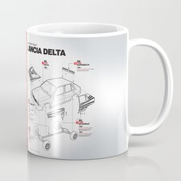 Lancia Delta History Model Kit in the WRC Coffee Mug