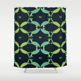 Turtles of the Amazon Shower Curtain