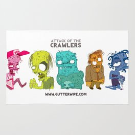 Attack Of The Crawlers Rug