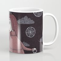 key Mugs featuring The Key by Judith Clay