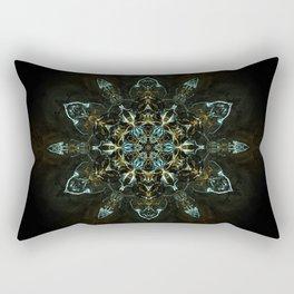 Chakras Mandala Rectangular Pillow
