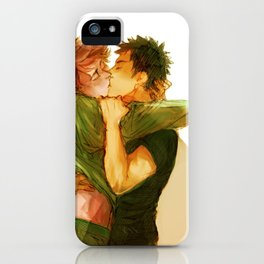 iwaoi kiss iPhone Case