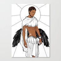apollo Canvas Prints featuring Apollo by Cassandra Jean