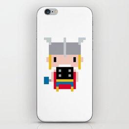 Pixel Thor iPhone Skin