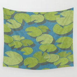 Lily Pad Love Wall Tapestry