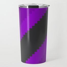 Pixel Grape Juice Dreams - Purple Travel Mug