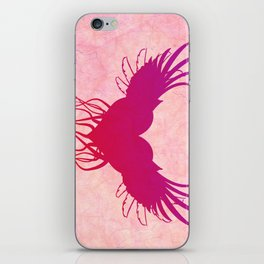 Give wings to my heart iPhone Skin