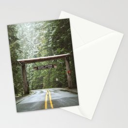 Sign, Mt. Rainier Stationery Cards
