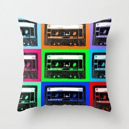 Mixtapes Throw Pillow