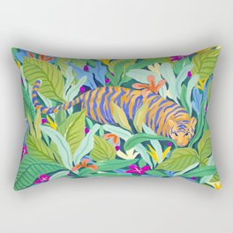 Colorful Jungle Rectangular Pillow