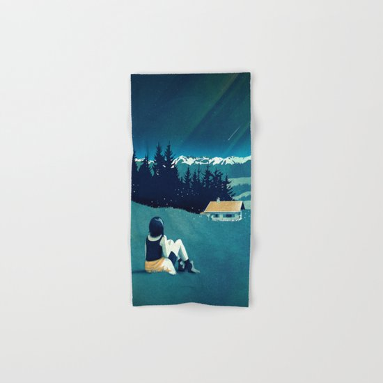 Magical Solitude Hand & Bath Towel