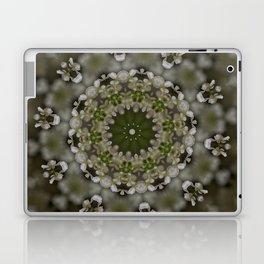 White brown graphics  Laptop & iPad Skin