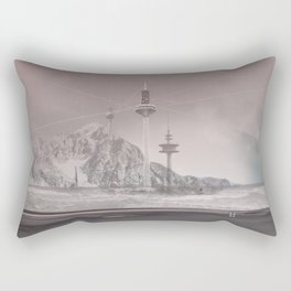 atmosphere 11 · The lost signal Rectangular Pillow