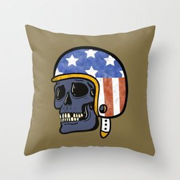 EZ Rider Throw Pillow