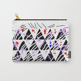 stripes-zebra-holiday 01 Carry-All Pouch