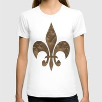 renaissance T-shirts featuring Renaissance Brown by Charma Rose