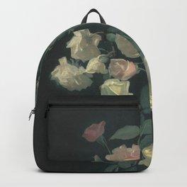 Roses in the dark Backpack