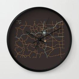 Colorado Highways Wall Clock