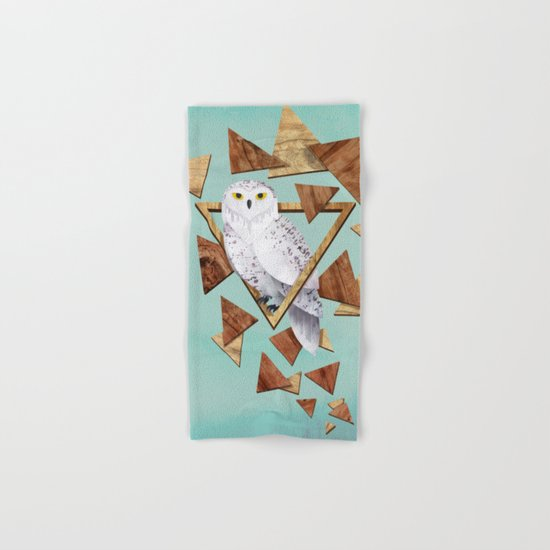 Owl in the Woods Hand & Bath Towel