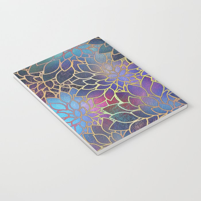 Floral Abstract 5 Notebook
