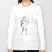 anime Long Sleeve T-shirts featuring Anime 2 by Prince Of Darkness
