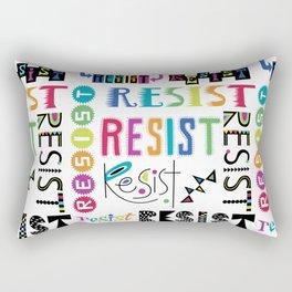 Resist them 3 Rectangular Pillow