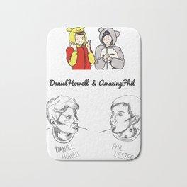 Dan and Phil (Unoffical) Bath Mat