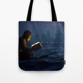 Wave Series Photograph No. 18. - The Strength of Solitude Tote Bag