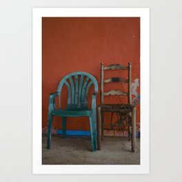 LONELY CHAIRS #6 Art Print