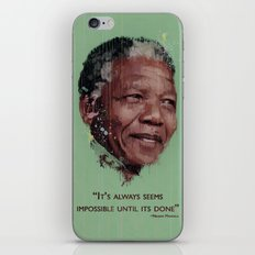 Nelson Mandela iPhone & iPod Skin