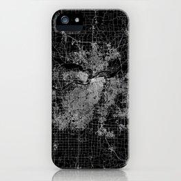 Kansas City map iPhone Case