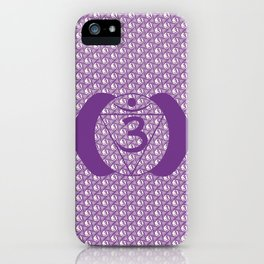 Ajna Chakra Serie - OM iPhone Case