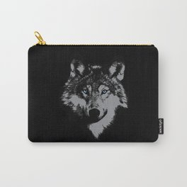 Wolf Lover Gift Idea Design Motif Carry-All Pouch