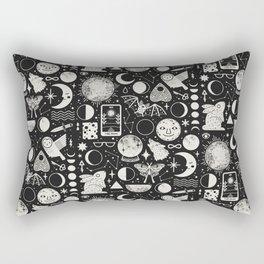 Lunar Pattern: Eclipse Rectangular Pillow