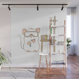 Lab Mouse Wall Mural