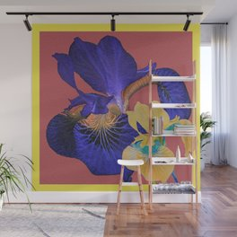Iris Floral Hug Love Wall Mural