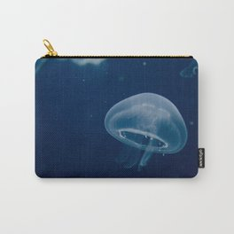 Small Blue Jelly Animal / Wildlife Photograph Carry-All Pouch