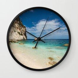 beach rocky Wall Clock