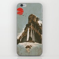 castle iPhone & iPod Skins featuring hidden castle by Steven Toang