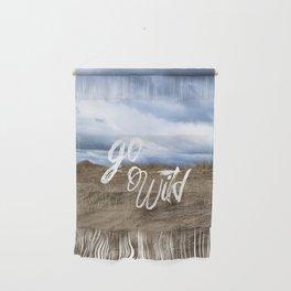 Go Wild Sand Dune Beach Print Wall Hanging