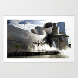 Museu Guggenheim Bilbao   Frank Gehry architect Art Print