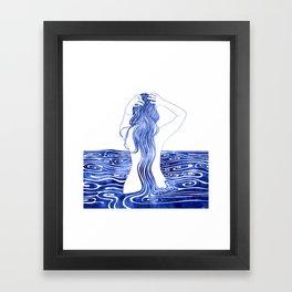 Nereid XI Framed Art Print