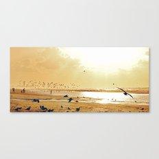 Beach ambience Canvas Print