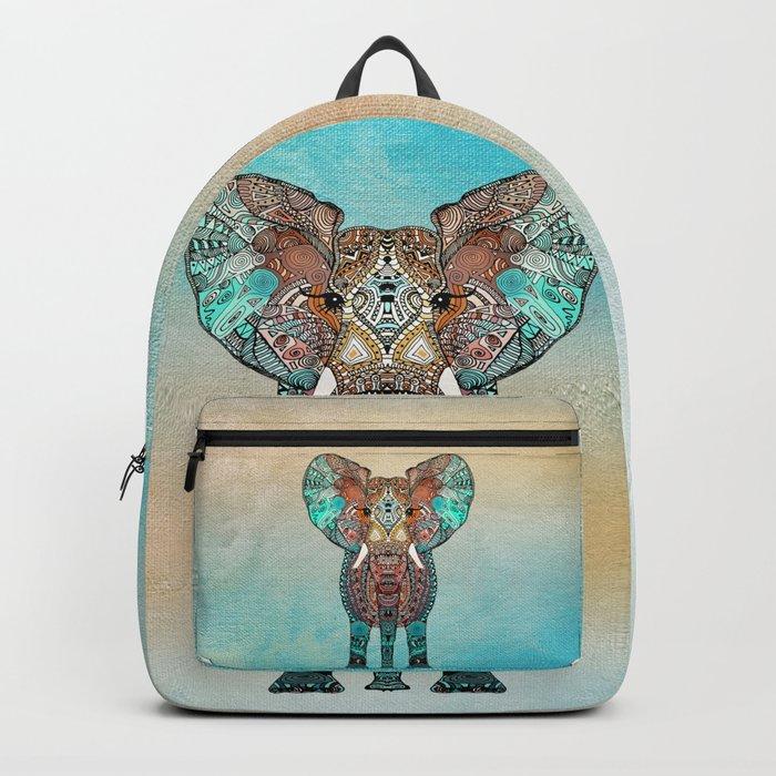 BOHO SUMMER ELEPHANT Backpack